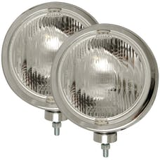 "AnzoUSA 821004 H3 8"" Round Slimline Off Road Light Chrome"