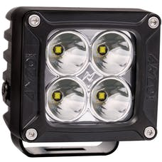 """AnzoUSA 881045 3""""x 3"""" High Power LED Off Road Spot Light with Harness"""