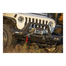 ARIES 2082087 TrailChaser Jeep Wrangler JL Front Bumper with Fender Flares (Option 9)