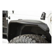 ARIES 2082097 TrailChaser Jeep Wrangler JL Front Bumper with Fender Flares (Option 9)