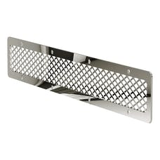 """ARIES PJ20MS Pro Series Jeep 20"""" Polished Stainless Steel Grille Guard Cover Plate"""