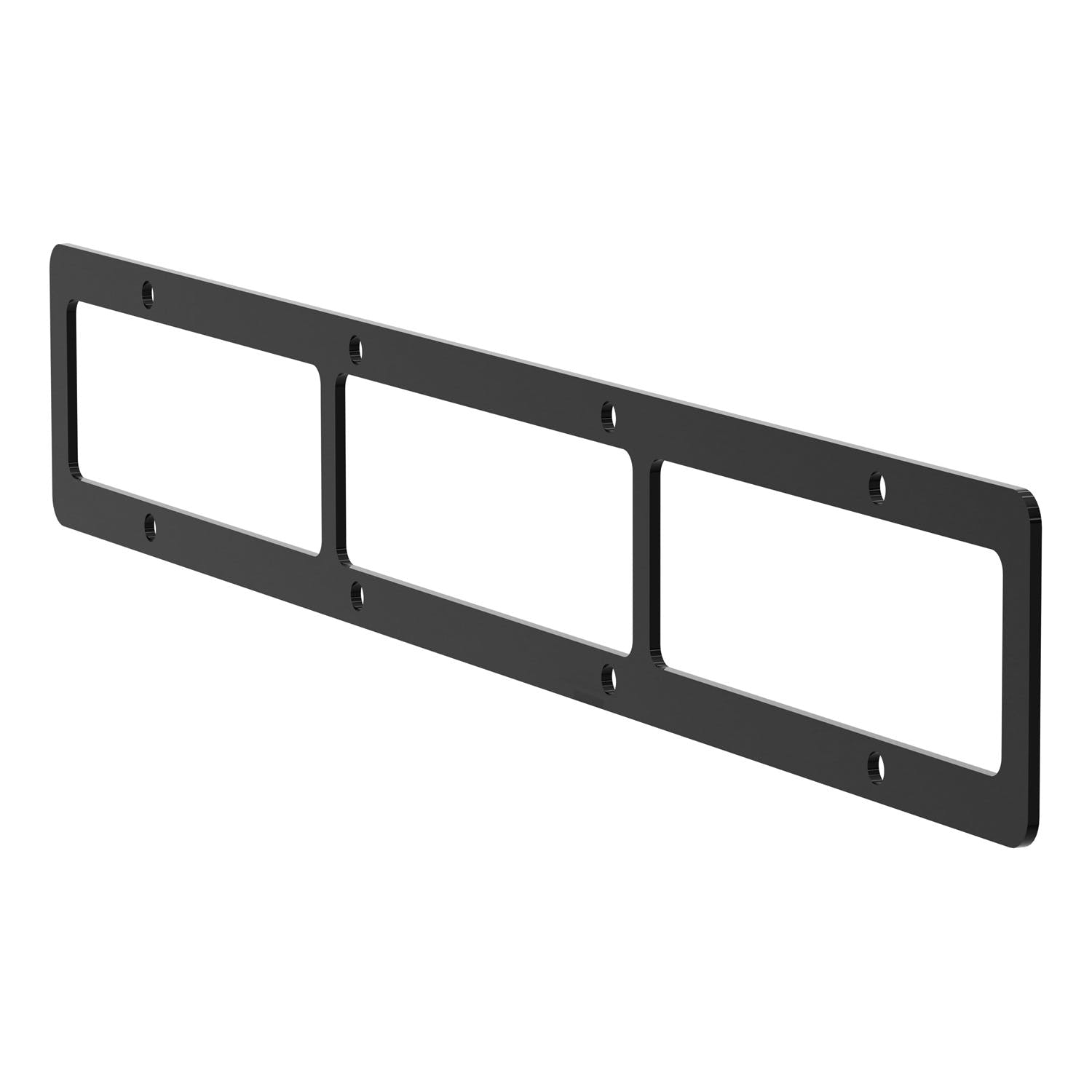 ARIES 85-0000 Pro Series Grill Guard License Plate Bracket