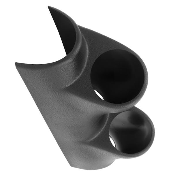 AutoMeter Products 10125 Dual Pillar Gauge Pod, Black