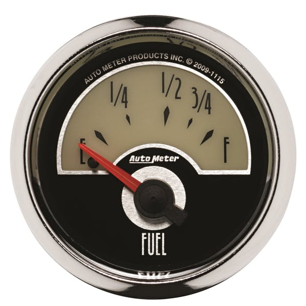 """AutoMeter Products 1115 2-1/16"""" Fuel Level, 73-10 SSE"""