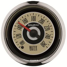 AutoMeter Products 1155 GAUGE; WATER TEMP; 2 1/16in.; 260deg.F; DIGITAL STEPPER MOTOR; CRUISER