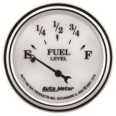 AutoMeter Products 1216 Old Tyme White II Fuel Level Gauge