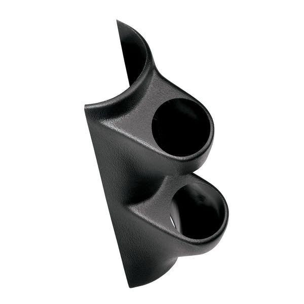 AutoMeter Products 10103 Mounting Solutions Dual Pillar Gauge Pod, Black