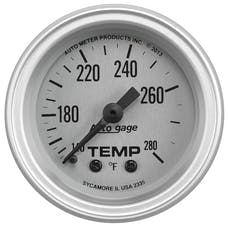 "AutoMeter Products 2335 2-1/16"" Water Temperature Guage, 140-280 Γö¼ΓûæF"