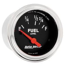 AutoMeter Products 2515 Fuel Level Gauge  73 E/8-12 F