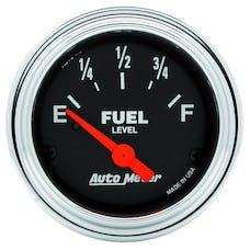 AutoMeter Products 2516 Fuel Level Gauge  240 E/33 F