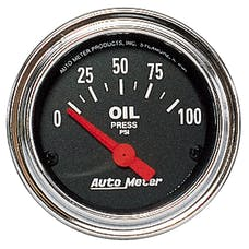 AutoMeter Products 2522 Oil Press 0-100 PSI