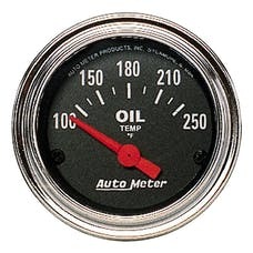 AutoMeter Products 2542 Oil Temp Gauge 100-250 F