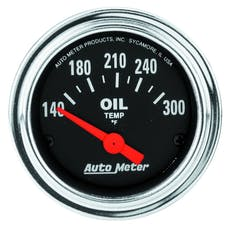 AutoMeter Products 2543 Oil Temp Gauge 140-300 F
