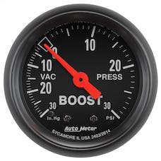 AutoMeter Products 2614 Boost/Vac  30 In. Hg/30 PSI