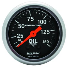 AutoMeter Products 3323 Oil Press  0-150 PSI
