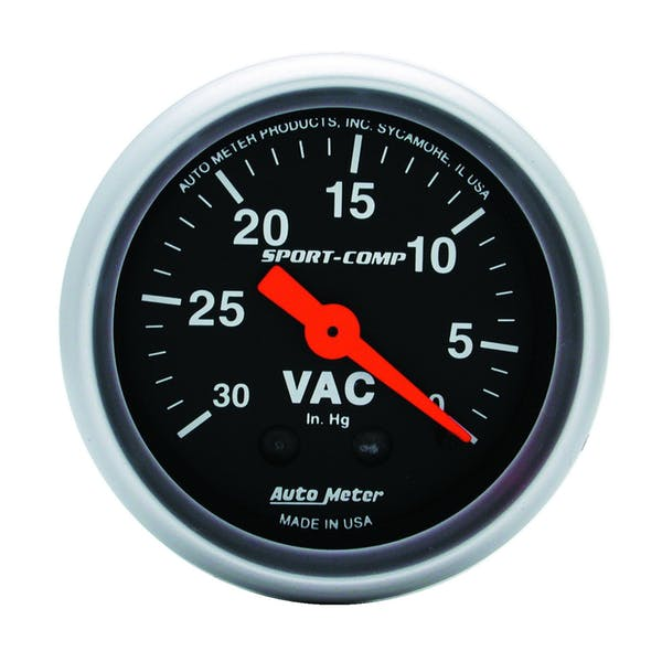 AutoMeter Products 3384 Vacuum  30 In. Hg