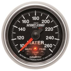 AutoMeter Products 3654 2-1/16in Water Temp, 100- 260F, FSE