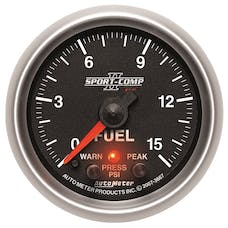 AutoMeter Products 3667 2-1/16in Fuel Pressure, 0-15 PSI, FSE