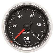 AutoMeter Products 3821 2-1/16in Oil Pressure  0-100 PSI  Mechanical  GS