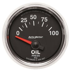 AutoMeter Products 3827 2-1/16in Oil Pressure  0-100 PSI  SSE  GS