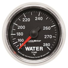 AutoMeter Products 3831 GAUGE; WATER TEMP; 2 1/16in.; 140-280deg.F; MECHANICAL; GS