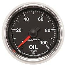 AutoMeter Products 3853 2-1/16in Oil Pressure  0-100 PSI  FSE  GS