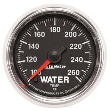 AutoMeter Products 3855 2-1/16in Water Temp 100- 260 F FSE GS