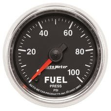 AutoMeter Products 3863 2-1/16in Fuel Pressure  0- 100 PSI  FSE GS