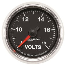 AutoMeter Products 3891 2-1/16in Voltmeter  8-18V FSE GS