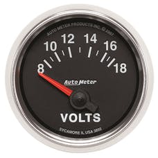 AutoMeter Products 3892 2-1/16in Voltmeter 8-18V