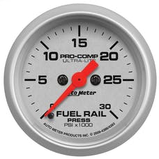 """AutoMeter Products 4386 2-1/16"""" Fuel Rail Pressure Gauge -  0 to 30,000 psi"""