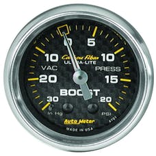 AutoMeter Products 4701 Boost/Vac  30 In. Hg/20 PSI