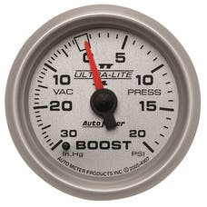 AutoMeter Products 4907 Boost/Vac 30in Hg/20 PSI  Full Sweep