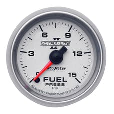 AutoMeter Products 4961 2-1/16in  Full Sweep  Fuel Pressure  0-15 PSI ULII