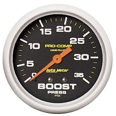 AutoMeter Products 5404 Boost  0-35 PSI