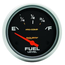 AutoMeter Products 5415 Fuel Level Gauge   0 E/90 F