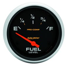 AutoMeter Products 5417 Fuel Level Gauge   240 E/33 F