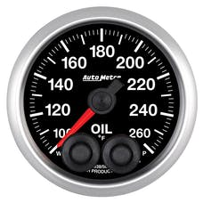 "AutoMeter Products 5638 2-1/16"" Oil Temp, 100- 260`F, Elite"