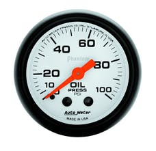 AutoMeter Products 5721 Oil Press  0-100 PSI