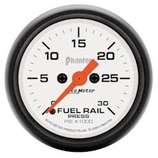 AutoMeter Products 5786 Gauge; Rail Press (RAM 5.9L); 2 1/16in.; 30kpsi; Digital Stepper Motor; Phantom