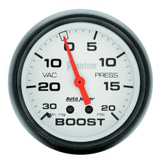 AutoMeter Products 5801 Boost/Vac  30 In. Hg/20 PSI