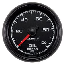 AutoMeter Products 5921 2-1/16in Oil Pressure  0-100 PSI  Mechanical ES