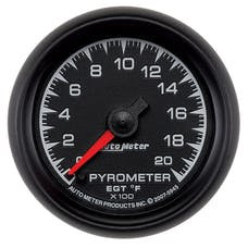 AutoMeter Products 5945 2-1/16in Pyrometer Kit  0-200 F Full Sweep Electric