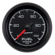 AutoMeter Products 5963 2-1/16in Fuel Pressure 0- 100 PSI Full Sweep Electric
