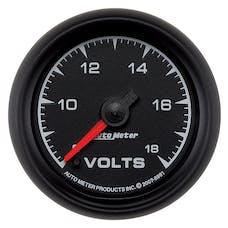 AutoMeter Products 5991 Gauge; Voltmeter; 2 1/16in.; 18V; Digital Stepper Motor; ES