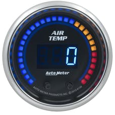 "AutoMeter Products 6158 Dual Air Temperature Gauge 2 1/16"", 0-300Γö¼ΓòæF, Digital Cobalt"