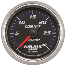 "AutoMeter Products 6186 2-1/16"" Fuel Rail Pressure Gauge  Cobalt - 0 to 30,000 psi"