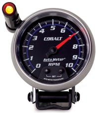 AutoMeter Products 6290 Gauge; Tachometer; 3 3/4in.; 10k RPM; Pedestal w/ext. Quick-Lite; Cobalt
