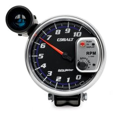 AutoMeter Products 6299 Gauge; Tachometer; 5in.; 10k RPM; Pedestal w/ext. Shift-Lite; Cobalt