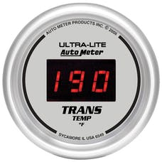 AutoMeter Products 6549 2-1/16in Trans Temp, 0- 300F - , Digital Silver